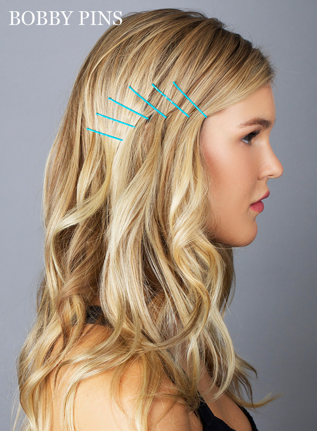 Ideas For Hairstyles With Bobby Pins How To Use Bobby Pins