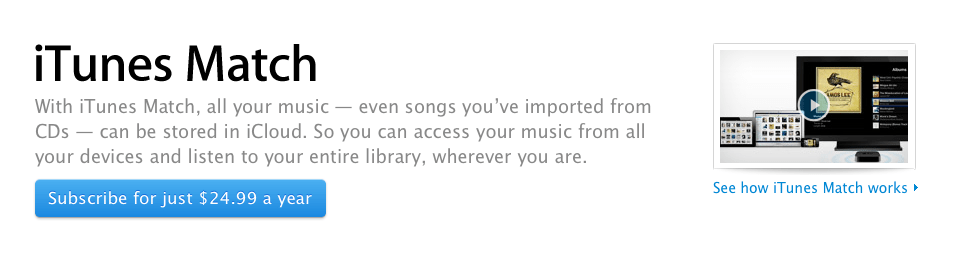 蘋果推出iTunes Match專頁與教學影片   Mac4HK