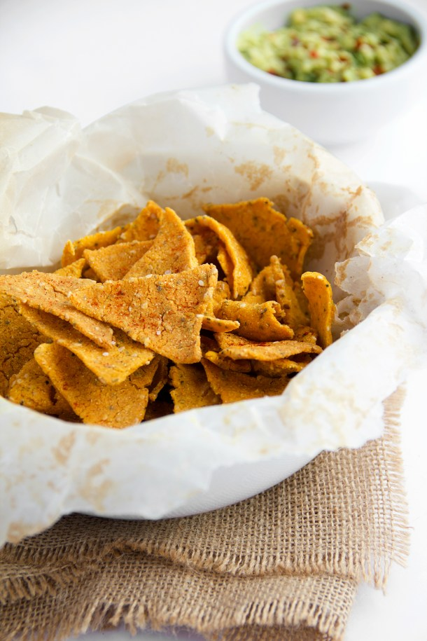 Chips de maíz