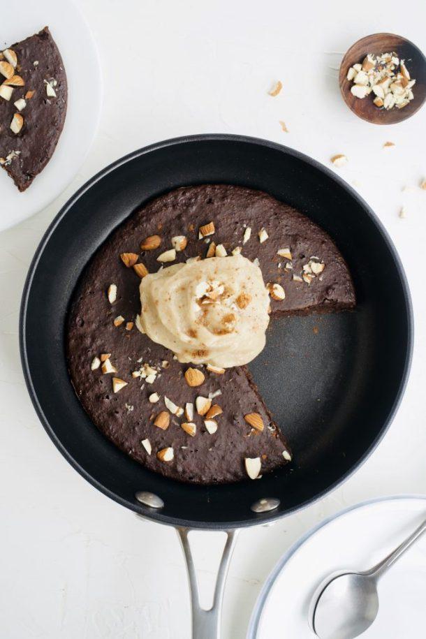 Brownie saludable sin horno