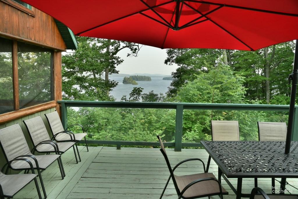 Vue sur le Lac Simon, Outaouais, Québec