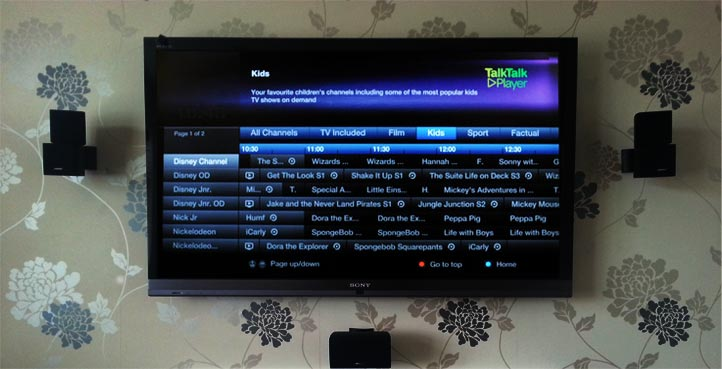 Youview TV Guide Talk Talk