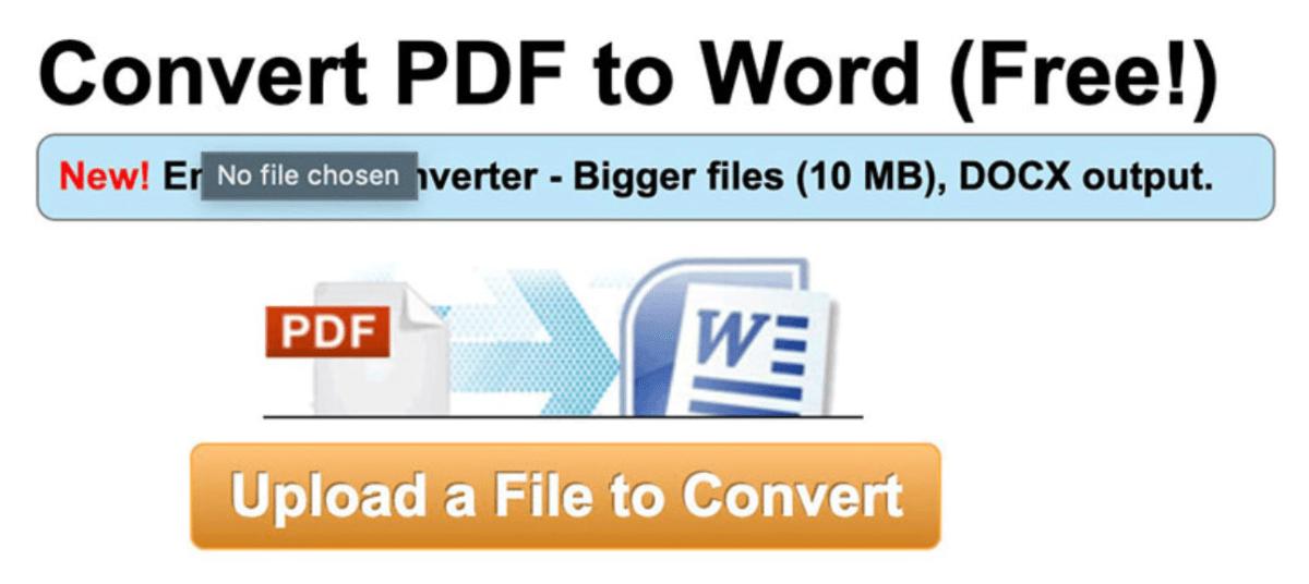 Menukar fail dokumen ke PDF dan dari PDF
