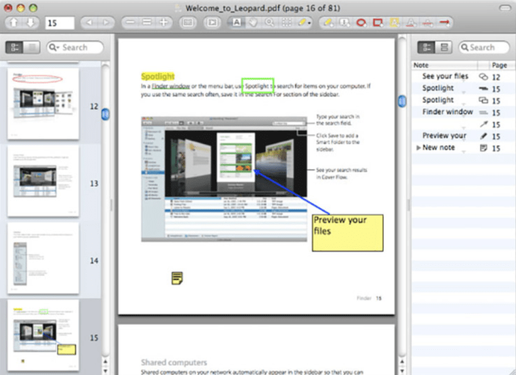 Skim A feature-filled PDF reader and note-taker for OS X. It is designed to help you read and annotate scientific papers in PDF. (desktop tool)