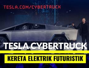 kereta elektrik tesla cybertruck bukan kereta terbang