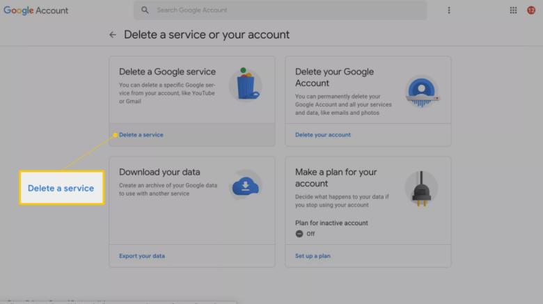 cara nak delete akaun gmail