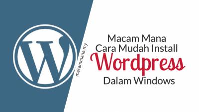 Cara Mudah Install dan Setup WordPress di IIS