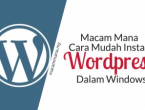 wordpress dalam windows