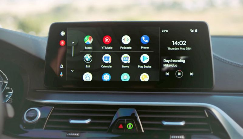 wireless android auto tanpa wayar