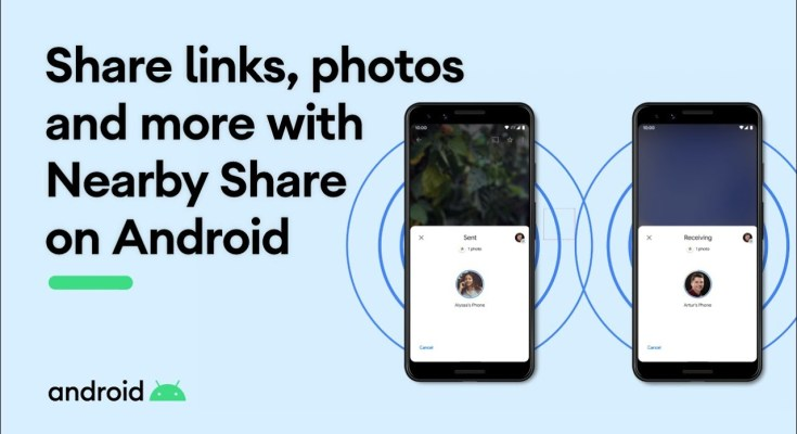 nearby share android