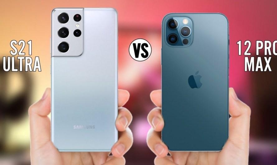 Perbandingan Dua Smartphone Mewah Apple dan Samsung, iPhone 12 Pro & Galaxy S21 Ultra
