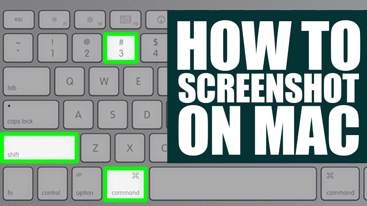 macam mana screenshot dalam mac