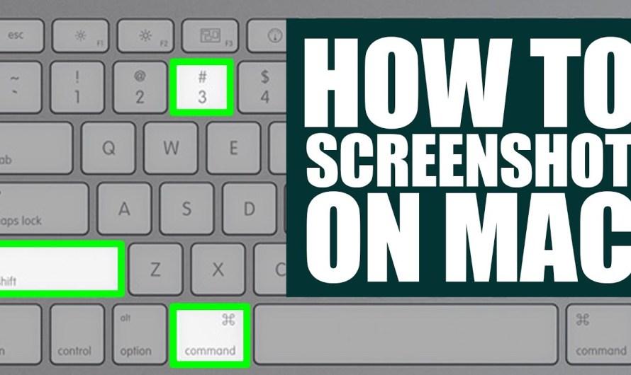 Macam Mana Cara Screenshots dalam Mac Anda