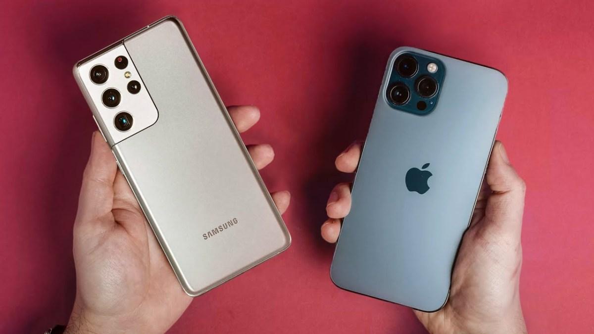 iPhone 12 Pro Dan Max Galaxy S21 Ultra