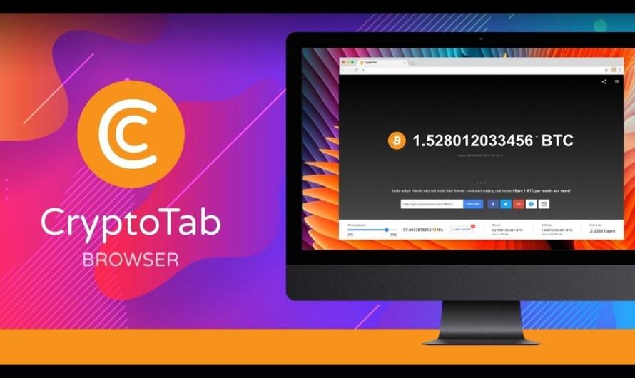 CryptoTab Browser — Buat Duit Dalam USD Percuma Dengan Browser Ini.