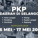 SOP PKP 6 DAERAH  DI SELANGOR & SOP HARI RAYA AIDILFITRI 2021