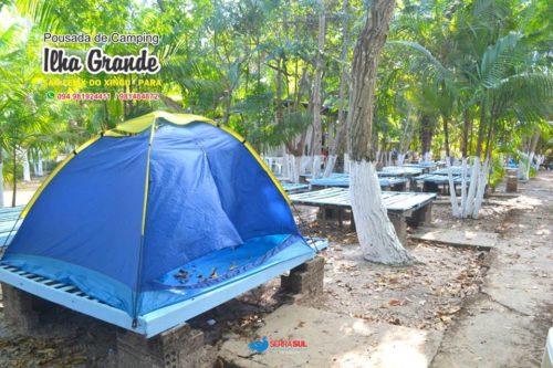 Camping Ilha Grande-São Felix do Xingu-PA-1