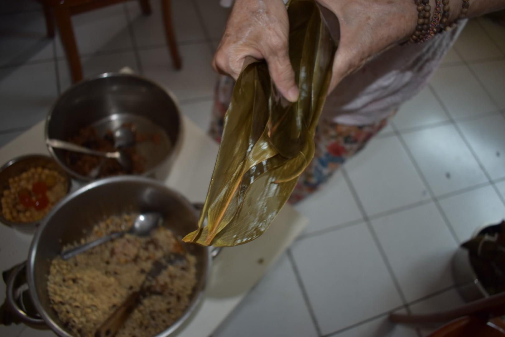 瑪倉派 不藏私素食食譜 米豆素粽