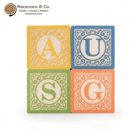 CLA28 Uncle Goose Classic ABC Blocks 3