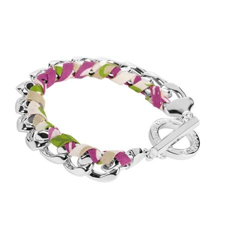13537-155 Braided Chain Bracelet Julep Tulip
