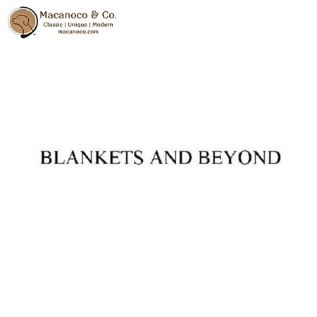 Blankets and Beyond