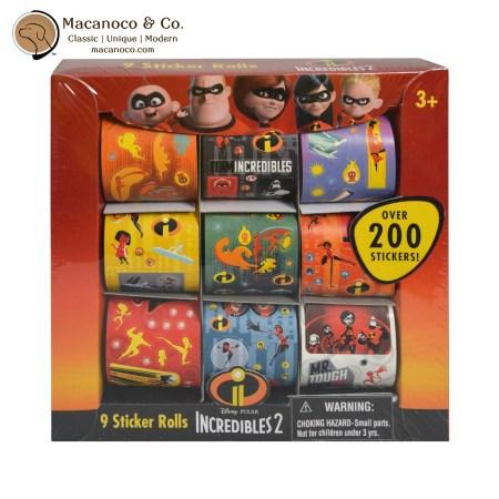 14760 Disney Pixar Incredibles 9 Roll Sticker 1