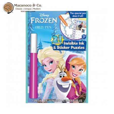 FZ520 - CHILLY Disney Frozen Chilly Fun 2-in-1 Activity Set 1