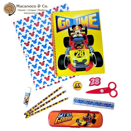 SS4882DI Disney Mickey and the Roadster Racers 11-Piece Stationery Set 1