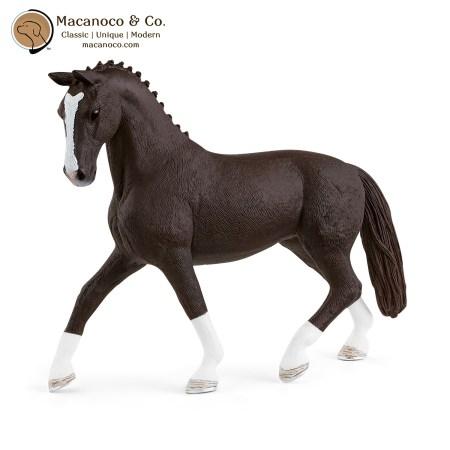 13927 Hanoverian Mare Black 1
