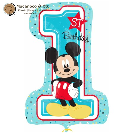 34343 Mickey Mouse 1st Birthday Super Shape 1