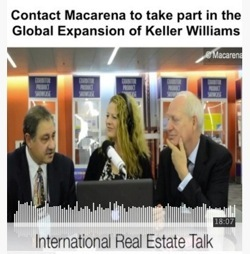 Keller Williams Global Expansion with Macarena Rose on IRT