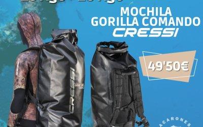 Mochila Cressi Gorilla Comando (23-29 agosto)