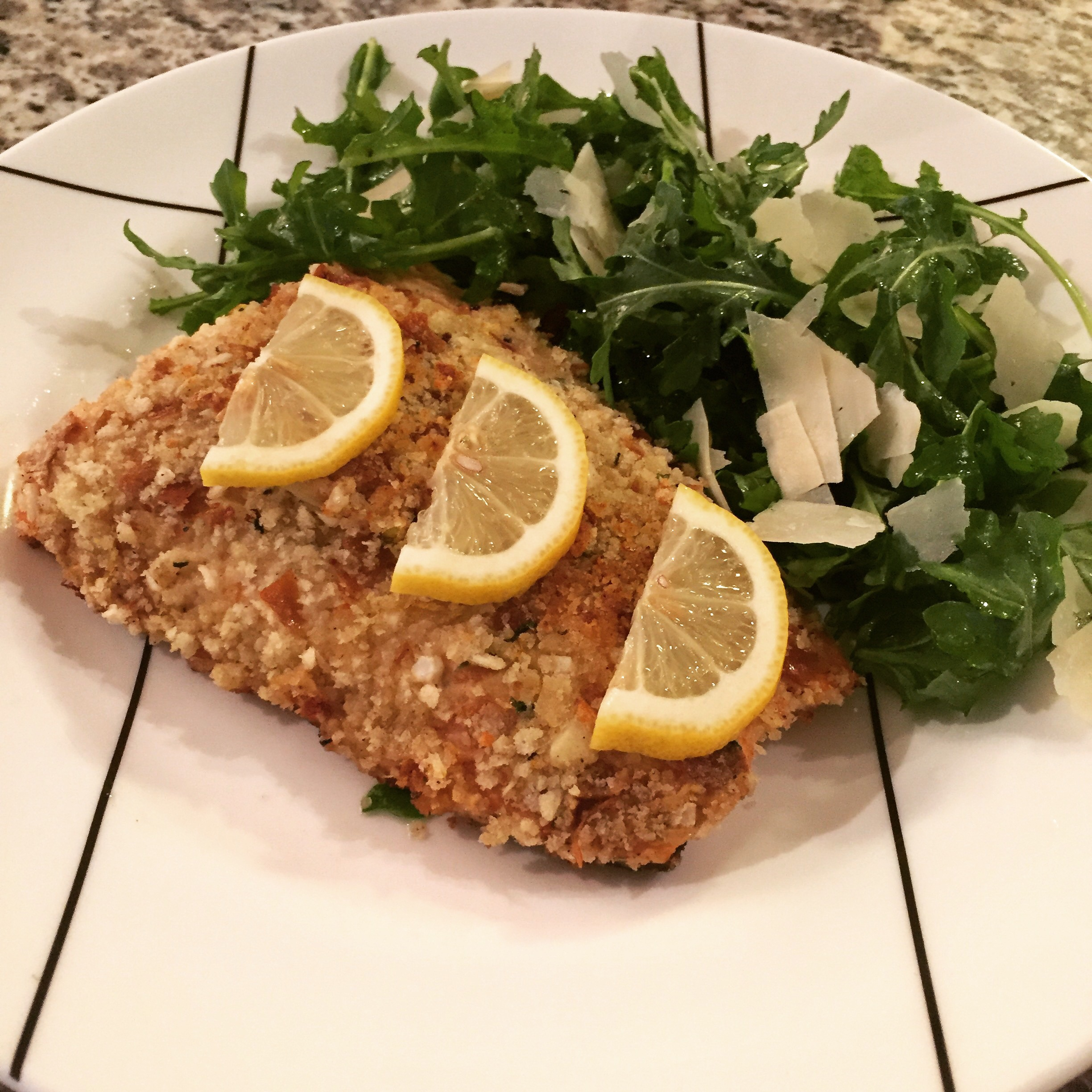 Panko Crusted Salmon Barefoot