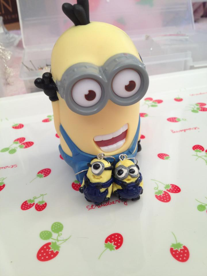 minion despicable me earrings