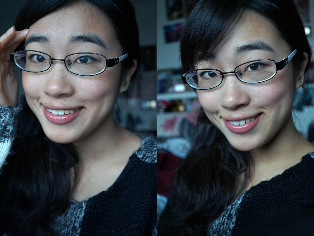 Refined Brows and foundation-less skin! :)