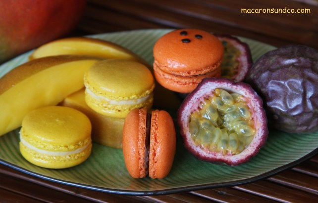 Macarons mangue passion IMG_3029