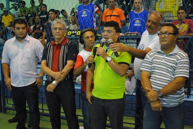 Esporte amador tem apoio do prefeito Kerginaldo Pinto e do secretário Siqueira