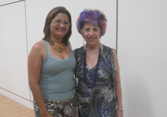 Eliane Pereira e Ester Pillar Grossi