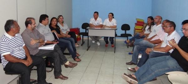 Plenária da reunião do conselho municipal de saúde