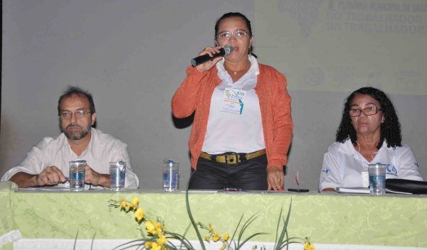 Presidente do CMS, Soraya Maciel preside os trabalhos