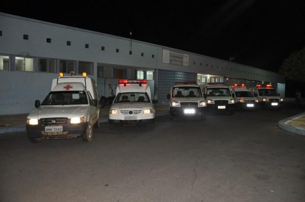 Frota de ambulâncias do município