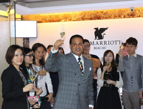 Rauf Malik, vice president, operations of JW Marriott Macau and Ritz-Carlton Macau