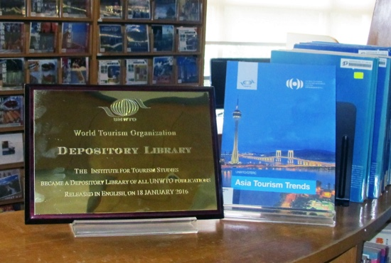 First unwto depository library in town macau daily times the institute for tourism studies ift multimedia library has recently become the first world tourism organization unwto depository library in macau publicscrutiny Choice Image