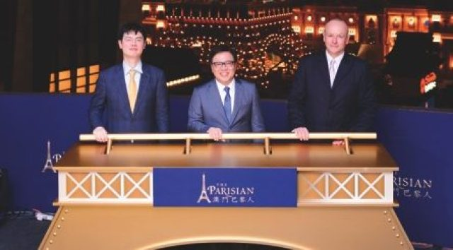 Senior executives from Sands China Ltd. officiated at The Parisian Macao's exclusive Eiffel Tower illumination event held June 23