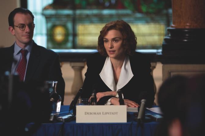 "Rachel Weisz portrays writer and historian Deborah E. Lipstadt in a scene from ""Denial"""