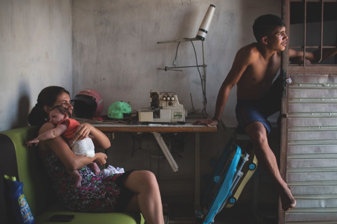 APTOPIX Brazil Zika Moms