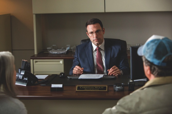 "Ben Affleck appears in a scene from ""The Accountant"""