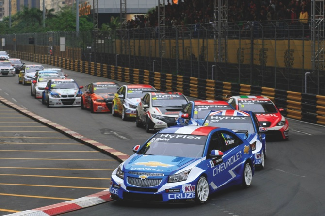 The WTCC series could be back to Macau (pictured: 2012 race)