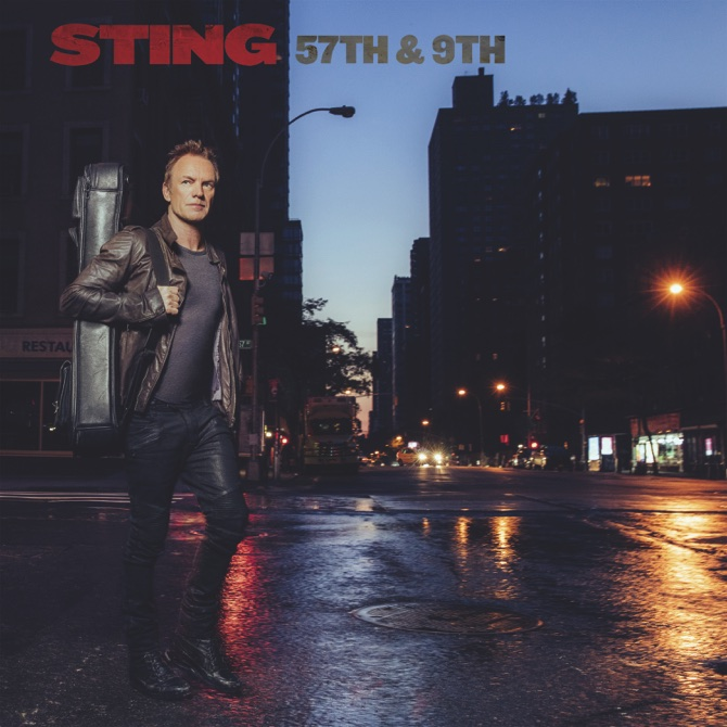 "Sting, ""57th and 9th"" (A&M/Interscope)"