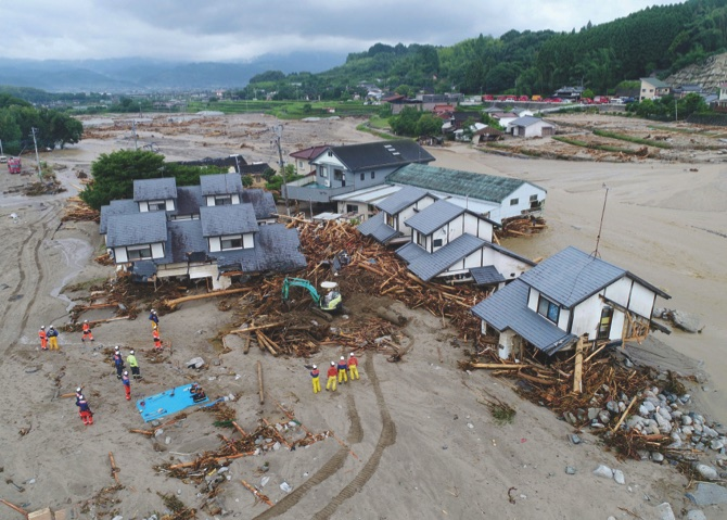 Japan flood deaths rise to 15 with 14 missing